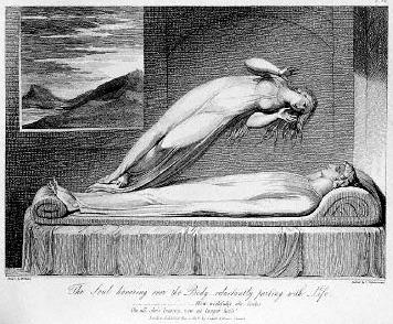 Luigi Schiavonetti, Dusza opuszcza ciało (1808)