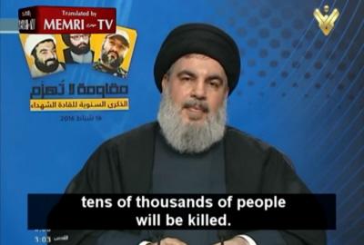 Przywódca Hezbollahu, Hassan Nasrallah groził ostatnio wystrzeleniem pocisków na fabrykę i magazyny amoniaku w północnym Izraelu, co zabiłoby dziesiątki tysięcy cywilów – włącznie z tysiącami Arabów izraelskich.<br />