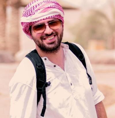 Tarek Baddar (zdjęcie: twitter.com/tareqbaddar)