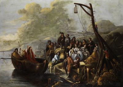 Gerbrand van den Eeckhout – Jezus naucza nad jeziorem Genezaret.
