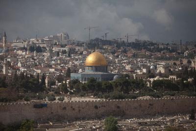 Jerozolima z Wzgórzem Świątynnym (Zdjęcie: Lior Mizrahi/Getty Images)