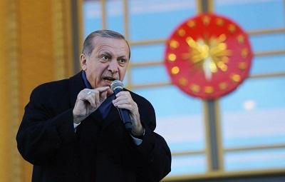 Turecki prezydent Recep Tayyip Erdoğan powiedział niedawno: \