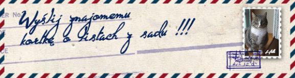 Jacek Chudziński przygotował kopertę, do której Andrzej włożył swój list: