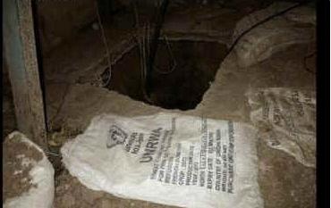 Tunel odkryty przez Izraelską Armię Obronną w Gazie, 23 lipca.Zdjęcie: IDF SPOKESMAN'S OFFICE