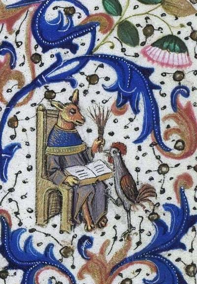 Ilustracja: Willem Vrelant, Libro de horas de Leonor de la Vega, Bruges c. 1465-70
