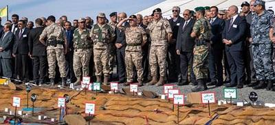 Manewry jordańskiej armii symulujące wojnę z Izraelem.