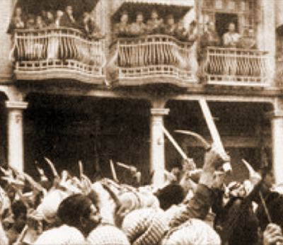 Pogrom w Bagdadzie w 1941 roku.