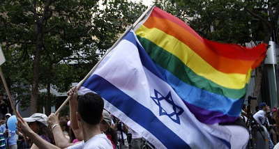 Żydzi maszerujący w paradzie Gay Pride w San Francisco w 2009 r. Zdjęcie: Daniel Dreifuss/Flash 90