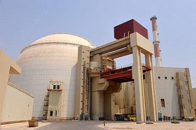 Zbudowana przez Rosję elektrownia jądrowa w Buszerze, w Iranie. (Photo by IIPA via Getty Images)