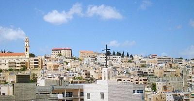 Podczas gdy chrześcijańscy przywódcy zajęci są potępianiem Izraela i szerzeniem oszczerstw o rytuale krwi, chrześcijanie w Betlejem (na zdjęciu) znowu są celem ataków chuliganów i łobuzów. (Zdjęcie: Daniel Case/Wikimedia Commons)
