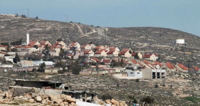 Izraelskie osiedle Bani Hever, w poboliżu Hebronu.