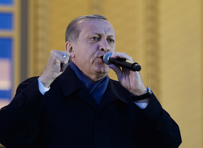 Turecki prezydent Tayyip Erdogan widzi Turków żyjących na Zachodzie jako forpocztę islamu. W tym roku powiedział Turkom żyjącym na Zachodzie: \