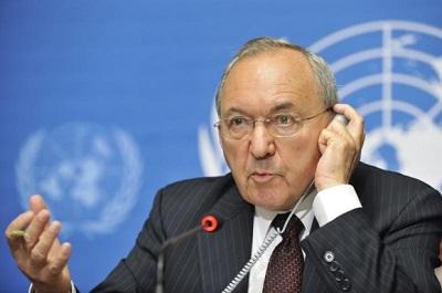 Richard Goldstone (Zdjęcie: United Nations Information Service)