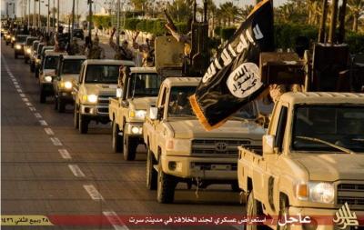 Defilada ISIS w Libii, w mieście Syrta.