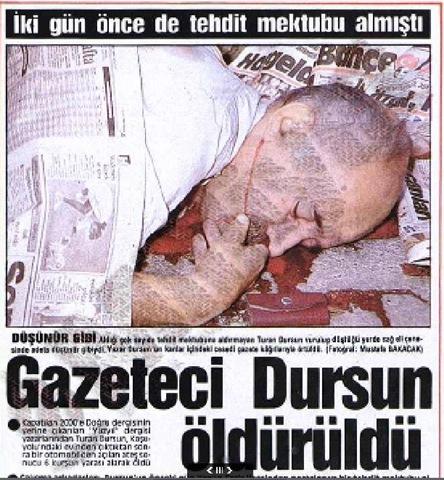 Zdjęcie z prasy tureckiej z 5 września 1990 roku.