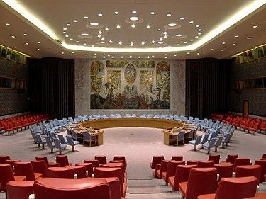 Rada Bezpieczeństwa ONZ spotykała się w sprawie sytuacji w Afganistanie w siedzibie Narodów Zjednoczonych w Nowym Jorku.(zdjęcie: wikipedia)
