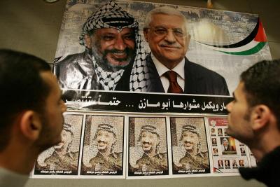 AP, najpierw za Jasera Arafata, a potem za Mahmouda Abbasa, okazała się nie różnić od większości arabskich dyktatur, gdzie nie istnieje demokracja ani wolność słowa i wolne media. (Zdjęcie: Abid Katib/Getty Images)