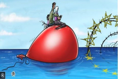 "UE odmawia wejścia uchodźcom (""Al-Arabi Al-Jadid"", Londyn, 30 sierpnia 2015)"