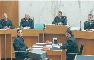 Sąd wojskowy, Ruanda 1999 (Reuters)