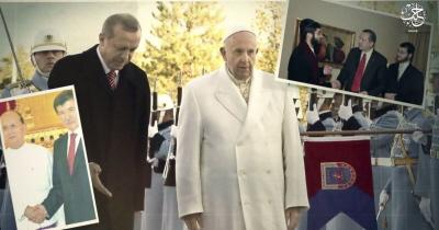 Propaganda ISIS krytykuje kontakty Turcji z innymi religiami, włącznie z papieżem Franciszkiem.