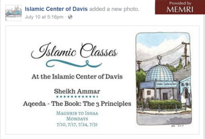 Facebook.com/Davismasjid/photos/a.374057202639108.95402.100886576622840/1603822756329207/?type=3&theater, accessed August 2, 2017.