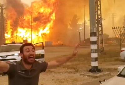Tysiące podpaleń przez Hamas i Islamski Dzihad izraelskich pól i lasów nie stanowi naruszenia praw człowieka w oczach świata, a szczególnie w oczach Human Rights Watch.