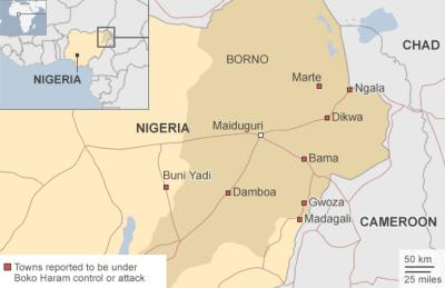 Stan Borno, wrzesień 2014 (Źródło: BBC)