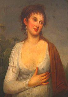 Maria Walewska (anonimowy portret, źródło: https://pl.wikipedia.org/wiki/Maria_Walewska)