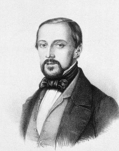 Młody Rudolf Virchow; Wikipedia, domena publiczna
