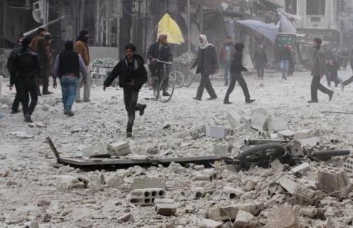 Przedmieście Damaszku, 4 stycznia 2015