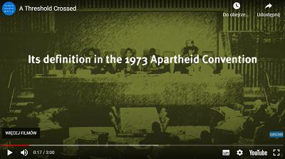 Zrzut z ekranu propagandowego wideo HRW