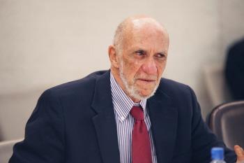 Richard Falk były specjalny sprawozdawca Rady Praw Człowieka ONZ do spraw wynajdowania zbrodni Izraela.