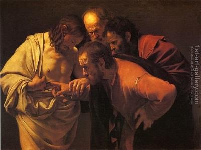 Niewierny Tomasz potrzebował dowodu, tak samo jak naukowiec, a teraz jest biblijnym przykładem ku przestrodze.<span>Caravaggio/Wikimedia Commons</span>,<span>CC BY</span>