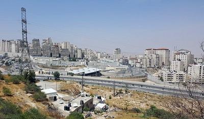 Nielegalne budowy palestyńskie w okolicach Jerozolimy.