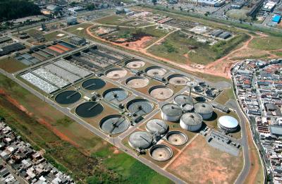 Oczyszczalnia w Brazylii. Zdjęcie z Lodologic