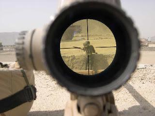 Świat w oczach irackiego snajpera.