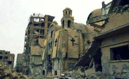 Syriacki kościół w Deir Al-Zor (abouna.org, 27 września 2013)