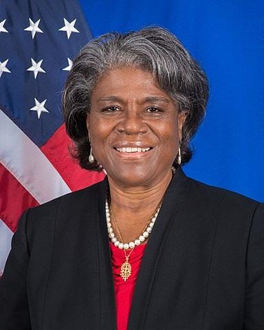 Ambasadorka USA przy ONZ, Linda Thomas-Greenfield. (Zdjęcie: Wikipedia)