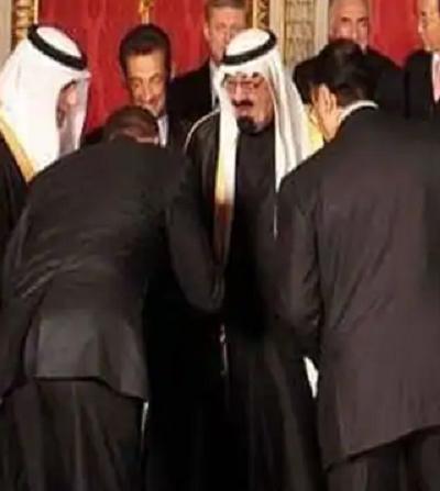 Prezydent Obama też preferował kontakty ze starym królem (Zdjęcie: zrzut z ekranu wideo.)