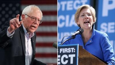 Wielu Demokratów głównego nurtu wyraziło poparcie dla szczelinowania. Kilku kandydatów na prezydentów jednak – włącznie z senatorami Elizabeth Warren z Massachusetts i Bernie Sandersem z Vermont — obiecują jego likwidację.