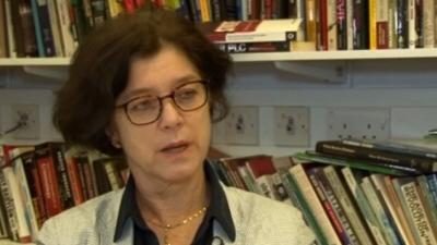 Penny Green, brytyjska prawniczka proponująca bombardowanie Izraela.