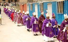 Nigeryjscy biskupi katoliccy w Środę Popielcową. Zdjęcie z RealNewsMagazine