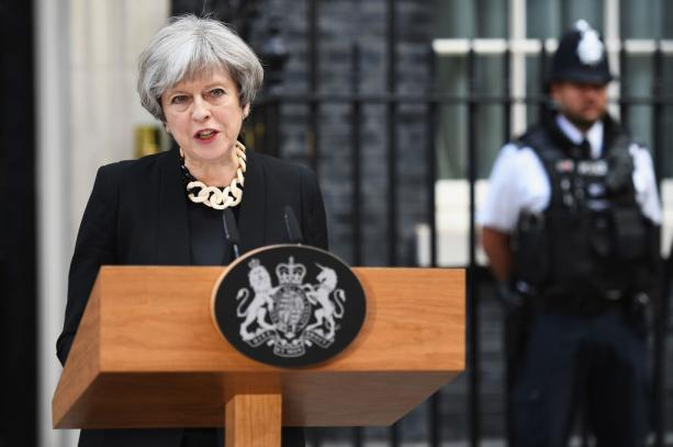 4 czerwca brytyjska premier, Theresa May, powiedziała: \