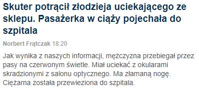 Zrzut z erkanu - wiadomości, gazeta.pl 23.08.2018