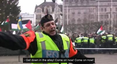 W styczniu 2009 r. tłuszcza arabska obrzuciła pokojową demonstrację żydowską butelkami, jajkami i bombami dymnymi. Policja zepchnęła Żydów, którzy mieli pozwolenie na tę demonstrację, w boczną ulicę.