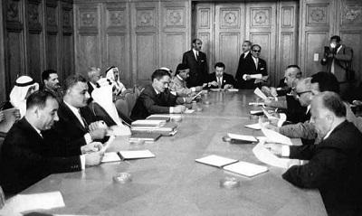 <span>1964 rok, szczyt arabski, utworzenie OWP</span>