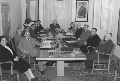 Pierwszy rząd Izraela