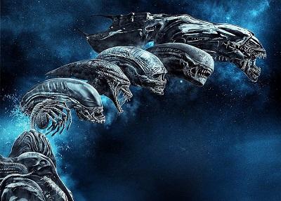 Kadr z filmu Alien.