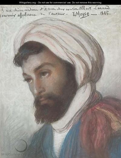 Portret algierskiego Żyda z 1885 roku