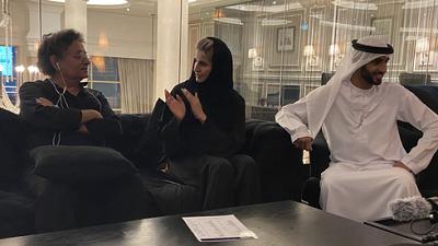 Wspaniałe spotkanie w Dubaju